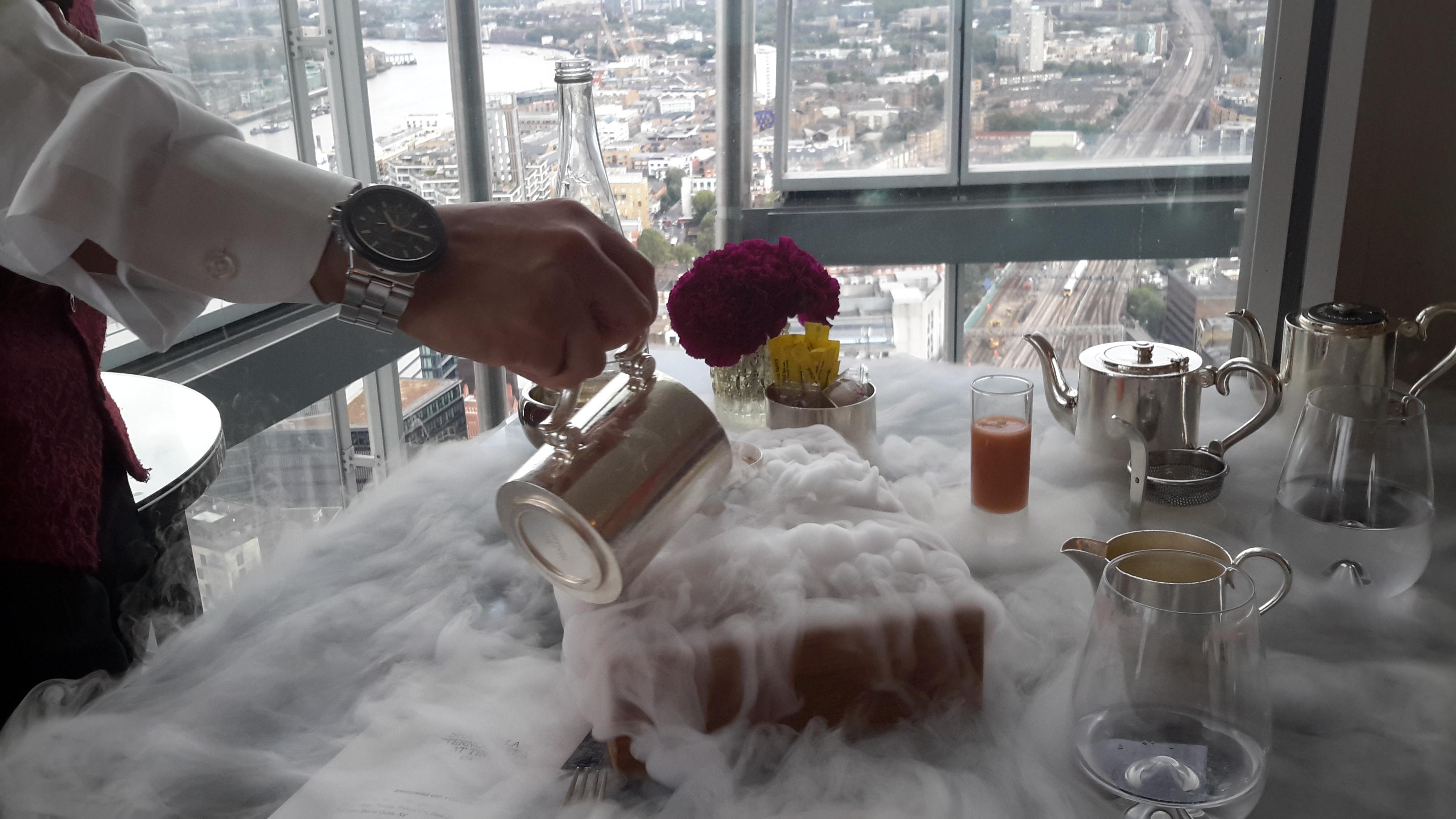 Shangri La Hotel Afternoon Tea Menu